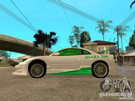 Mitsubishi Eclipse Midnight Club 3 DUB Edition для GTA San Andreas вид слева