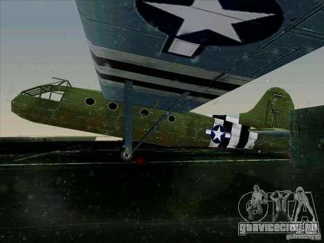Самолёт из игры В тылу врага 2 для GTA San Andreas вид слева