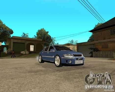 Volkswagen Phaeton для GTA San Andreas вид справа