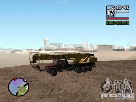 КрАЗ-250 MKAT-40 для GTA San Andreas вид слева