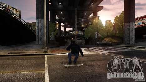 Скейтборд №3 для GTA 4 вид слева
