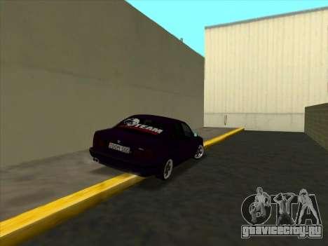 BMW M5 E34 NeedForDrive для GTA San Andreas вид справа