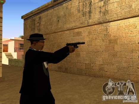 USP45 Tactical для GTA San Andreas пятый скриншот