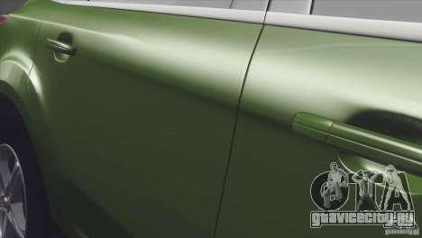 Ford Focus sedan для GTA San Andreas вид сзади слева