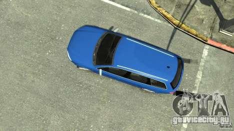 Audi S4 Avant для GTA 4 вид справа