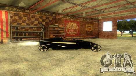 Lamborghini Concept для GTA San Andreas вид слева