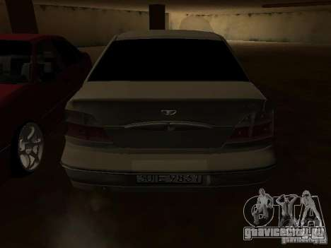 Daewoo Nexia для GTA San Andreas колёса