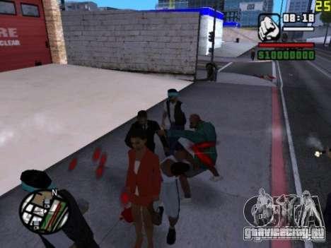 Нельзя бить женщин 2.0 для GTA San Andreas третий скриншот