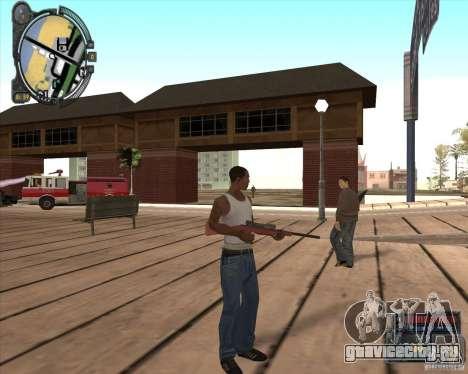 S.T.A.L.K.E.R. Call of Pripyat HUD for SA v1.0 для GTA San Andreas второй скриншот