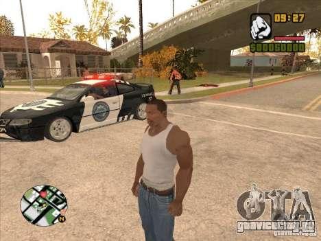 Call the Police для GTA San Andreas третий скриншот