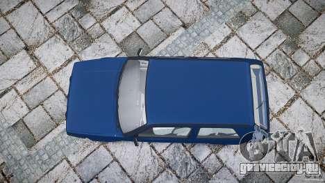 Volkswagen GOLF MK2 GTI для GTA 4 вид сверху