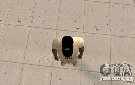 Кепка umbro black для GTA San Andreas третий скриншот