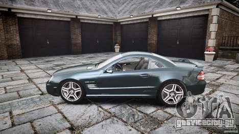 Mercedes Benz SL65 AMG V1.1 для GTA 4 вид слева