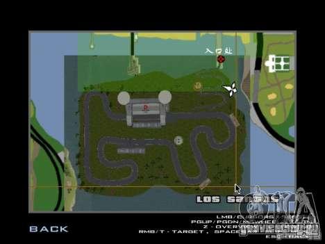 F1 Shanghai International Circuit для GTA San Andreas восьмой скриншот