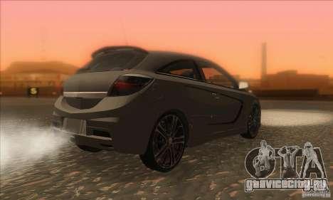 Opel Astra GTC DIM v1.0 для GTA San Andreas вид справа