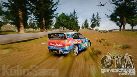 Ford Focus RS WRC для GTA 4 салон