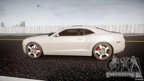 Chevrolet Camaro для GTA 4 вид слева