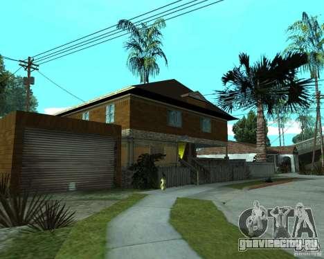Новый дом CJя для GTA San Andreas второй скриншот