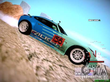 Pontiac Solstice Falken Tire для GTA San Andreas вид справа