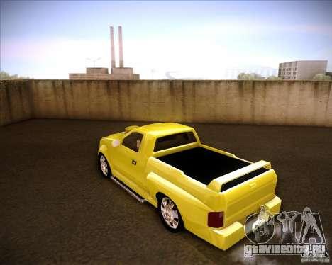 Dodge Dakota tuning для GTA San Andreas вид слева