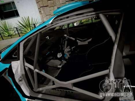 Ford Fiesta RS для GTA San Andreas вид сзади