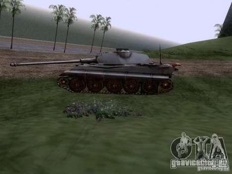 Pz VII Tiger II VIB Королевский Тигр для GTA San Andreas вид слева