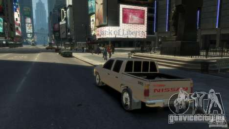Nissan Pick-Up 1997 для GTA 4 вид справа