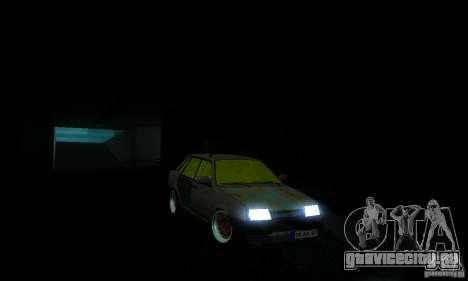 ВАЗ 21099 Rat Look для GTA San Andreas вид сзади слева