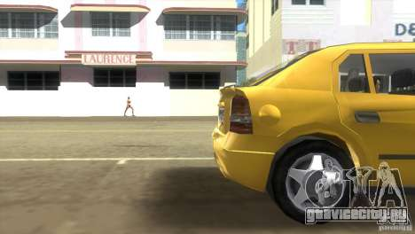 Opel Astra G для GTA Vice City вид сзади слева