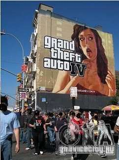 The real Poster Mod для GTA 4