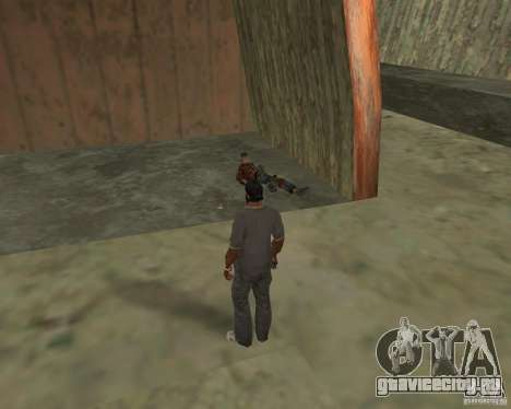 Гулянка бомжей для GTA San Andreas седьмой скриншот