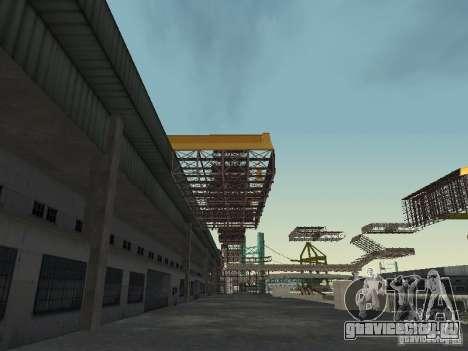 Huge MonsterTruck Track для GTA San Andreas пятый скриншот