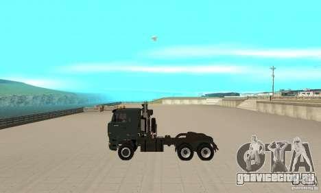 КамАЗ 65226 Tai v1.1 для GTA San Andreas вид сзади слева
