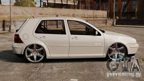 Volkswagen Golf Flash Edit для GTA 4 вид слева