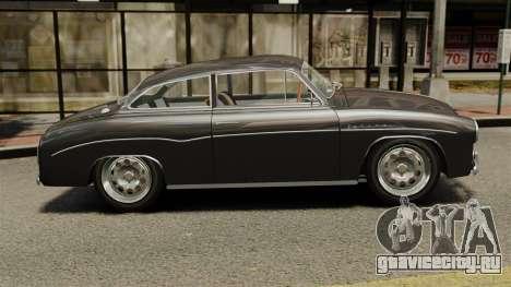 Syrena Coupe V8 для GTA 4 вид слева