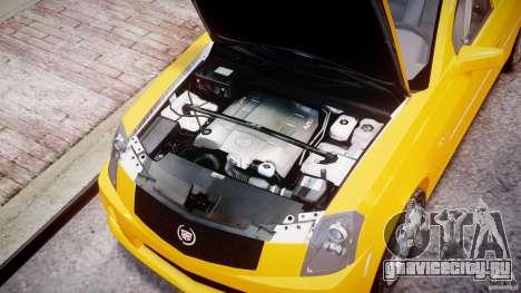 Cadillac CTS Taxi для GTA 4 вид справа