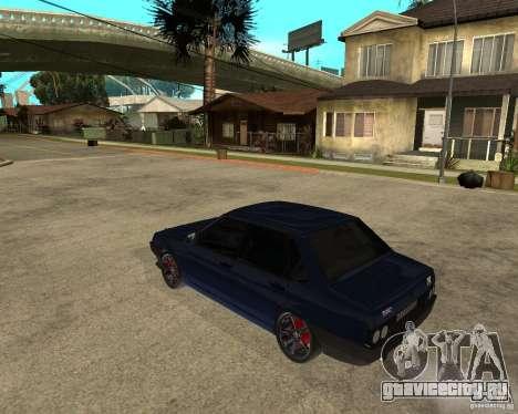 Ваз 21099 Tuning By Danil для GTA San Andreas вид слева