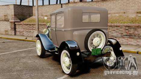 Ford Model T 1927 для GTA 4 вид сзади слева