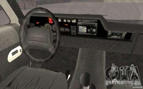 GTA3 HD Vehicles Tri-Pack III v.1.1 для GTA San Andreas салон