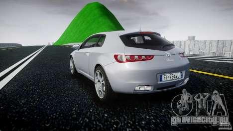 Alfa Romeo Brera Italia Independent 2009 для GTA 4 вид сзади слева