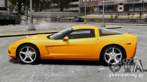 Chevrolet Corvette Z51 для GTA 4 вид слева