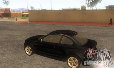 BMW 135i (E82) для GTA San Andreas вид справа