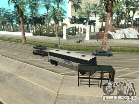 Автобусная линия в Лас Вентурас для GTA San Andreas девятый скриншот