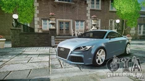 Audi TT RS 2010 для GTA 4 салон