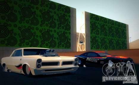 Pontiac GTO Drag Shark для GTA San Andreas вид справа