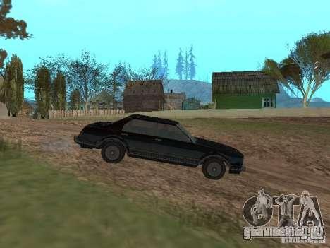Такси Романа из GTA 4 для GTA San Andreas вид слева
