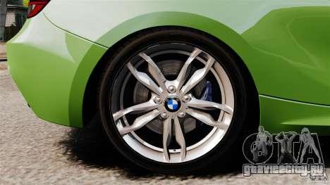 BMW M135i 2013 для GTA 4 вид сверху