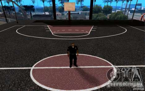 Новая баскетбольная площадка для GTA San Andreas