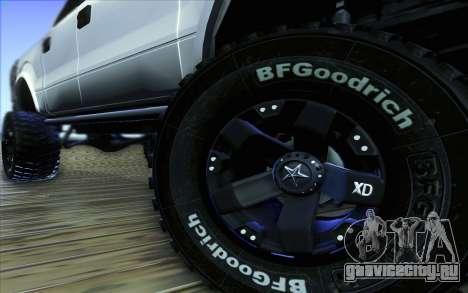 Ford F-150 Carryer Metal Mulisha для GTA San Andreas вид сверху