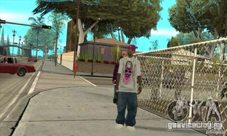 Замена всех скинов East Side Ballas для GTA San Andreas третий скриншот
